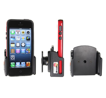 Brodit Passive Holder Apple iPhone 5/5S/SE with Skin