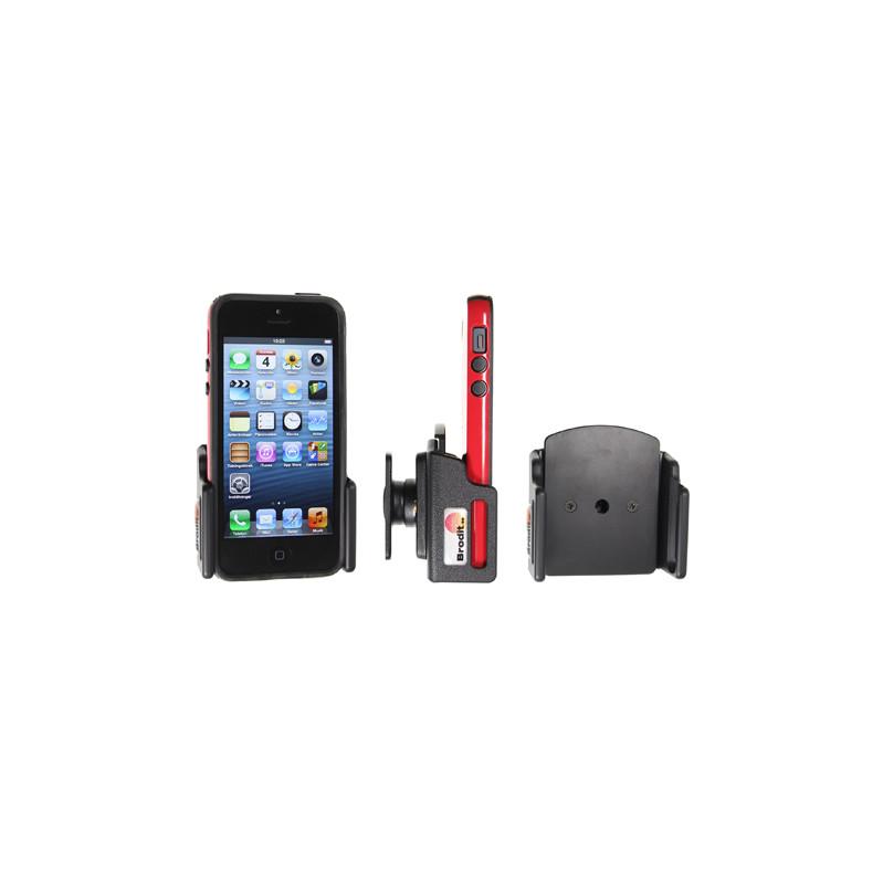 Brodit Passive Holder Apple Iphone 5 / 5s With Skin Verstelbaar 62-77/6-10