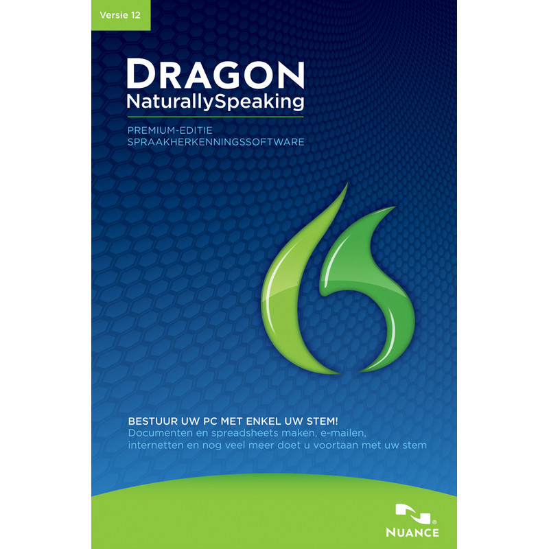 Nuance Dragon Naturally Speaking Premium 12.0 Upgrade