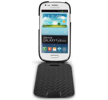 Noreve Tradition Leather Case Samsung Galaxy S III Mini Zwart