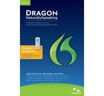 Nuance Dragon Naturally Speaking Premium 12.0 Mobile