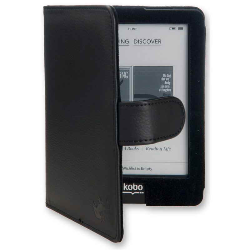 Gecko Covers Luxe Case Kobo Glo Black