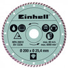 Einhell Turbo Diamantschijf 200x25,4mm
