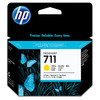 HP 711 Ink Cartridge Geel 3-Pack CZ136A