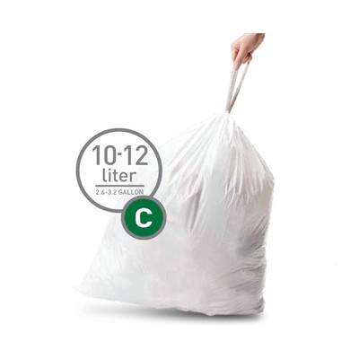 Image of Simplehuman Afvalzak Code C - 10-12 Liter (20 stuks)