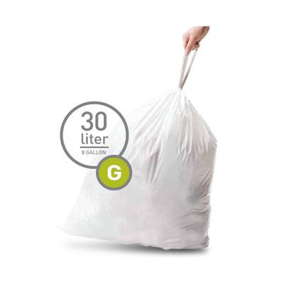 Image of Simplehuman Afvalzak Code G - 30 Liter (20 stuks)