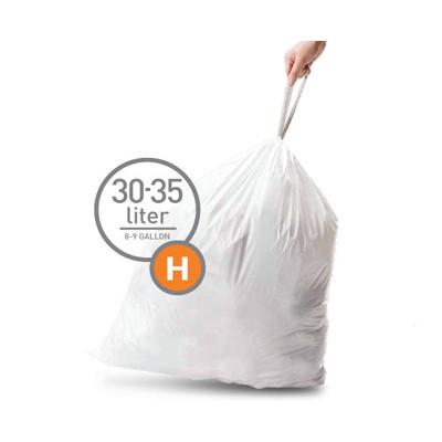 Image of Simplehuman Afvalzak Code H - 30 Liter (20 stuks)