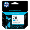HP 711 Ink Cartridge Blauw (cyaan) 3-Pack (CZ134A)