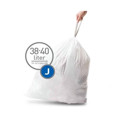 Image of Simplehuman Afvalzak Code J - 38-40 Liter (20 stuks)