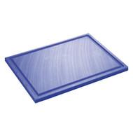 Inno Cuisinno Horeca Snijplank met ril 32,5 cm Blauw