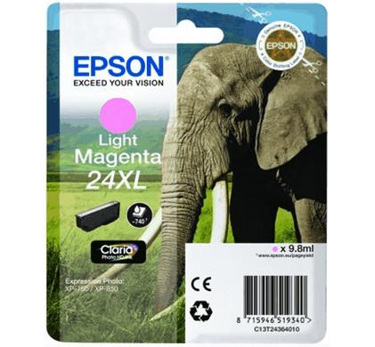 Epson 24 XL Inktcartridge Licht Magenta C13T24364010