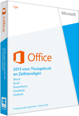 Microsoft Office Home and Business 2013 UK PKC