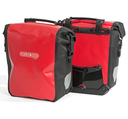 Ortlieb Sport-Roller City QL1 Red/Black (paar)