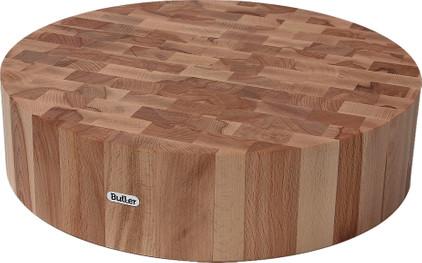 Butler Hakblok Beukenhout kops rond 40 x 10 cm