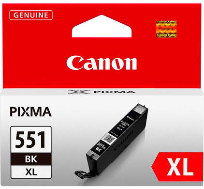 Canon CLI-551BK XL Inktcartridge Zwart (6443B001)