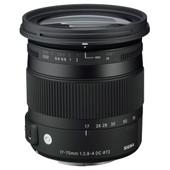 Sigma 17-70mm f/2.8-4 DC Macro OS HSM  Canon