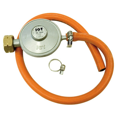 Image of Barbecook Gasregulator + Slang 30 mbar