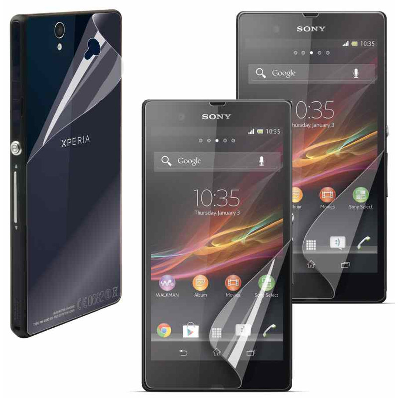 Muvit Screenprotector Sony Xperia Z Triple Pack