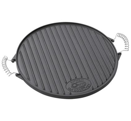 Outdoorchef Gietijzeren grillplaat Plancha Ø 39 cm