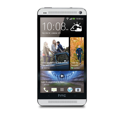 HTC One Zilver