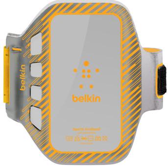 Belkin EaseFit Plus Sport Armband HTC One Oranje/Grijs