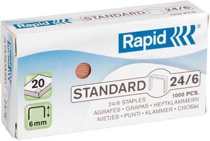 Rapid nietjes standaard 24/6 (1.000 st.)