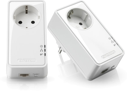 Sitecom LN-553 Geen WiFi 500 Mbps 2 adapters