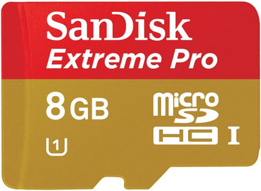 SanDisk Micro SDHC Extreme Pro 8GB Class 10