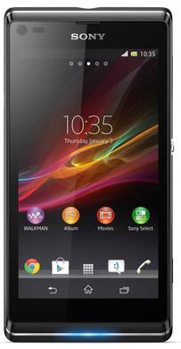 Sony Xperia L Zwart