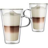 Bodum Canteen Dubbelwandig Glas Met Oor 40 cl (2 stuks)
