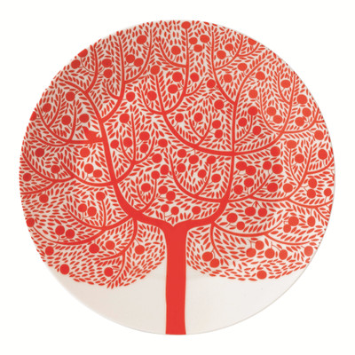 Royal Doulton Fable Accent Plat Bord Ø 22 cm Red Tree