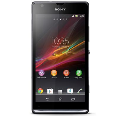 Sony Xperia SP Zwart
