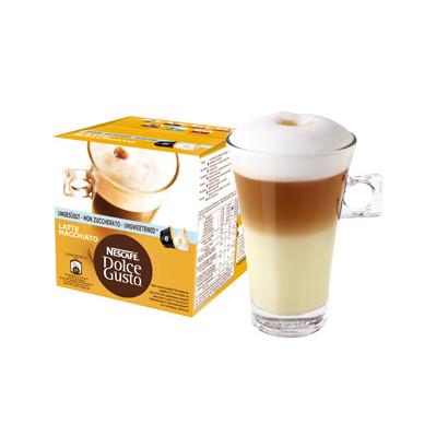Image of Dolce Gusto Cups Latte Macchiato Ongezoet 8