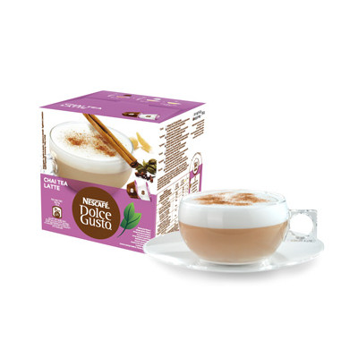 Image of Dolce Gusto Cups Chai Tea Latte 8