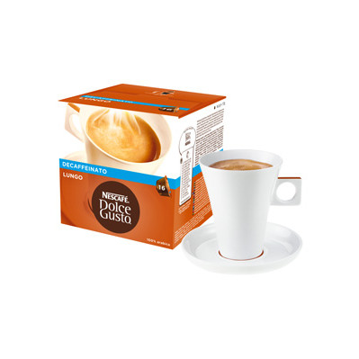Image of Dolce Gusto Cups Lungo Decaffeinato 16 dranken