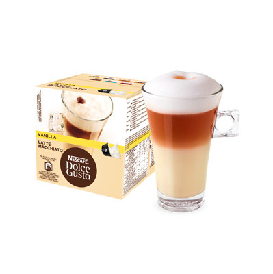 Image of Dolce Gusto Cups Vanilla Latte Macchiato 8