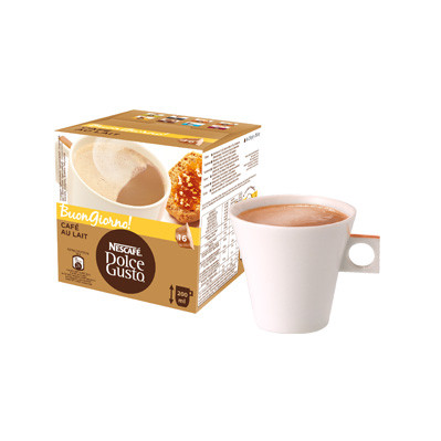 Image of Dolce Gusto Cups Cafe Au Lait 16