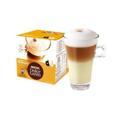 Image of Dolce Gusto Cups Latte Macchiato 8 dranken