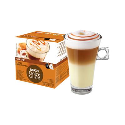 Image of Dolce Gusto Cups Caramel Latte Macchiato 8 dranken