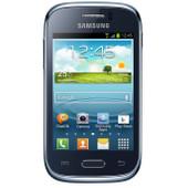 Samsung Galaxy Young Blauw Prepaid