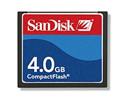SanDisk CF 4 GB