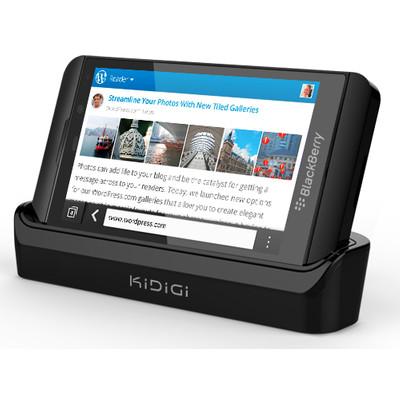 KiDiGi Dockingstation USB Blackberry Z10 Cover-Mate