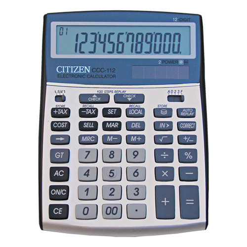 Citizen Cost Manager CCC-112
