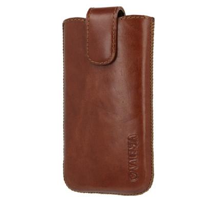 Valenta Leather Pocket Lucca 20 Bruin