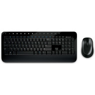 Microsoft 2000 Draadloos Toetsenbord en Muis QWERTY