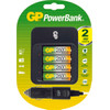 GP PowerBank 550 + 4 x AA 2600 mAh