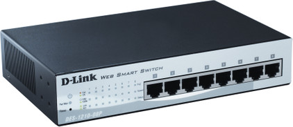 D-Link DES-1210-08P PoE Switch