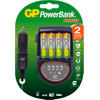 GP PowerBank Travel H500 + 4 x AA 2600
