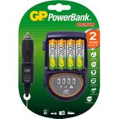 GP PowerBank Travel H500 + 4 x AA 2600