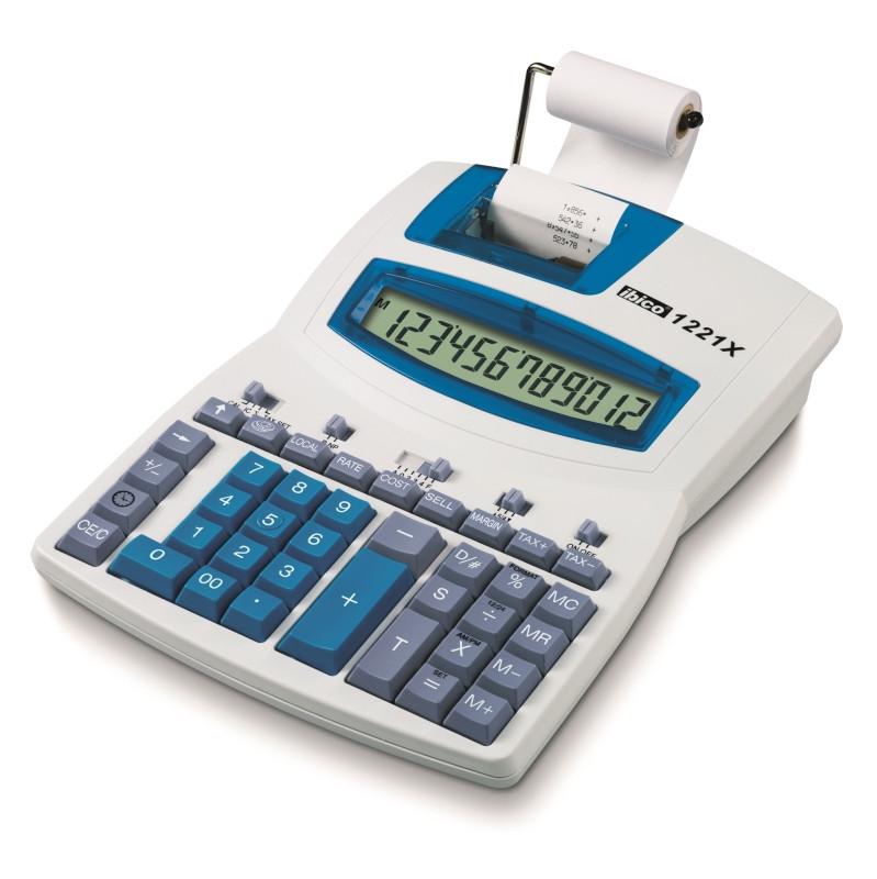 Ibico 1221x Semiprofessionele Printrekenmachine